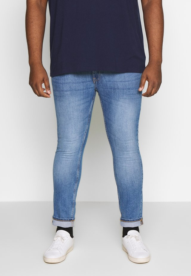 BIG SKINNY  - Skinny džíny - bright blue