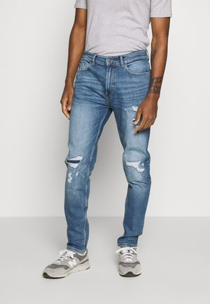 TAPERED HEAVY - Jeansy Slim Fit - blue