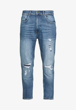 TAPERED HEAVY - Slim fit jeans - blue