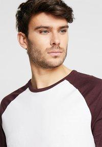 Burton Menswear London - RAGLAN BASIC 2 PACK  - Långärmad tröja - navy/burgundy - 4