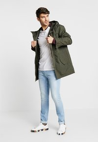 Burton Menswear London - RAGLAN BASIC 2 PACK  - Långärmad tröja - navy/burgundy - 1