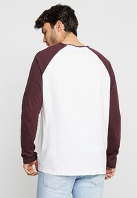 Burton Menswear London - RAGLAN BASIC 2 PACK  - Långärmad tröja - navy/burgundy - 3