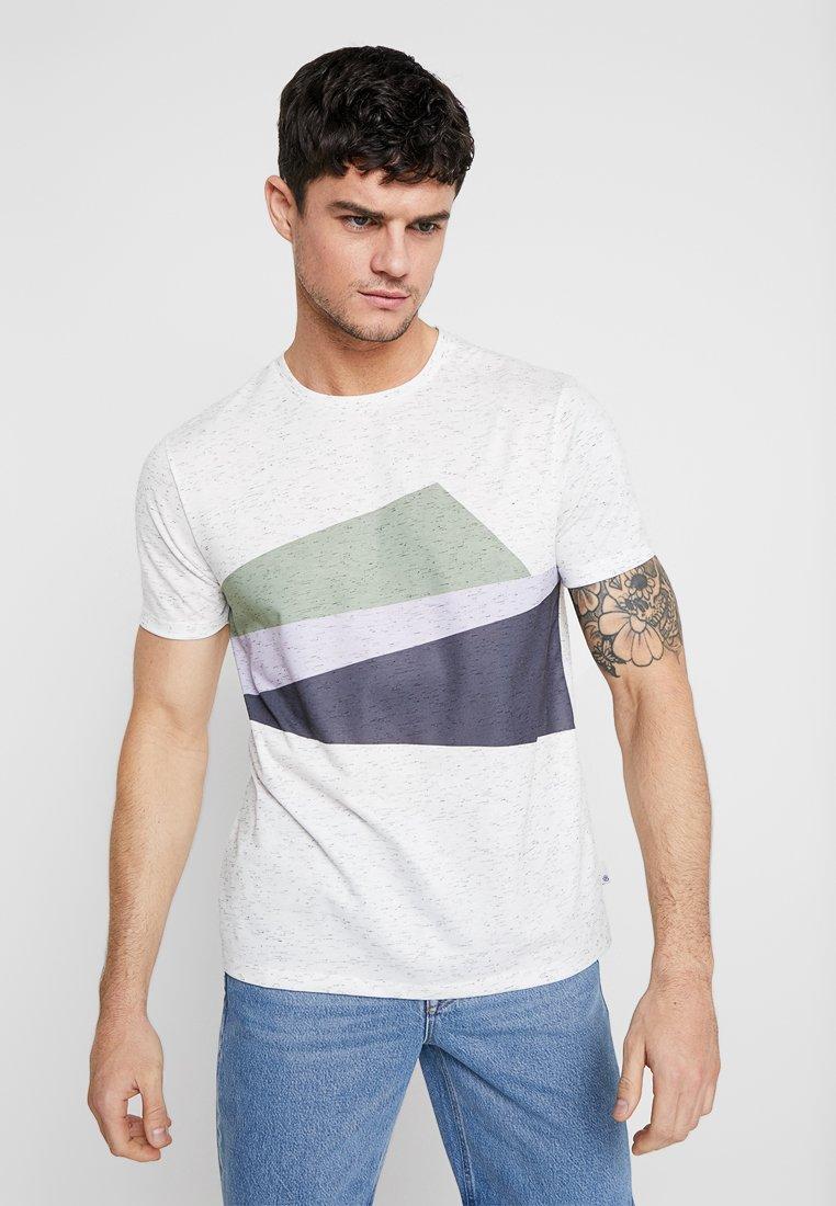 Burton Menswear London - ITALIAN CHEST BLOCK - T-Shirt print - purple