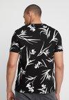 Burton Menswear London - SMART FLORAL - T-shirts print - black