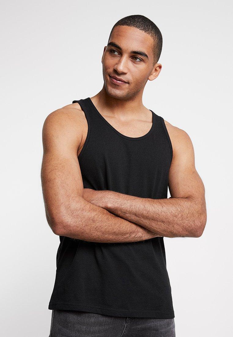 Burton Menswear London - BASIC VEST - Top - black