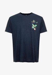Burton Menswear London - TOUCAN POCKET - T-shirt print - navy - 3
