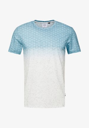 GEO FADE OUT - T-shirt con stampa - grey