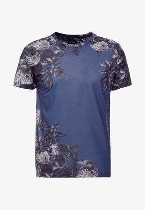 FLO PLACEMENT - T-shirt print - navy
