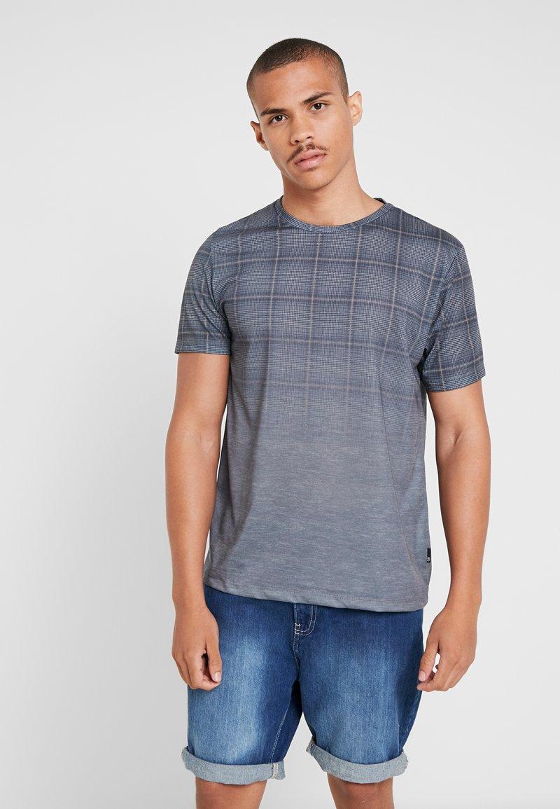 Burton Menswear London - FADE FLAG - T-Shirt print - mid grey