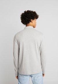 Burton Menswear London - BASIC 2 PACK - Top sdlouhým rukávem - grey melange/dark blue - 3