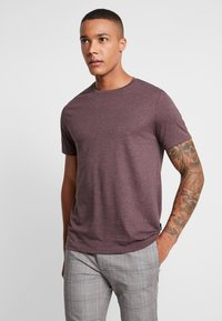 Burton Menswear London - MULTIPACK TEE 5 PACK - Jednoduché triko - mixed - 5