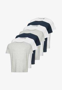 Burton Menswear London - BASIC TEE 7 PACK  - Jednoduché triko - multi - 4