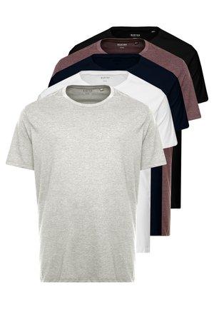 B&T 5 MULTIPACK TEE - Camiseta básica - multi-coloured
