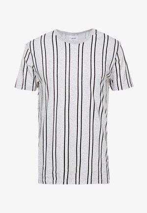 VERT STRIPE - Camiseta estampada - grey