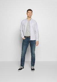 Burton Menswear London - 2 PACK  - T-shirt - bas - grey melange - 1