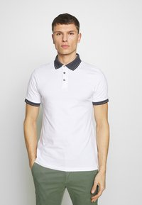 Burton Menswear London - 2 PACK - Polo shirt - white - 2