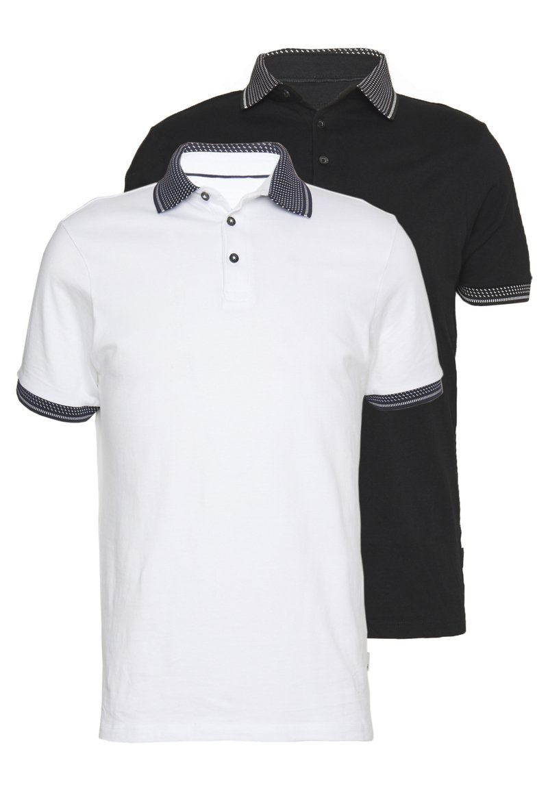 Burton Menswear London - 2 PACK - Polo shirt - white