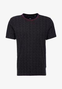 Burton Menswear London - PAISLEY TEE - Triko spotiskem - black - 4