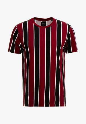 STRIPE BURG  - T-shirt print - burgundy