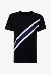 Burton Menswear London - TAPE DIAGO - Printtipaita - black - 4