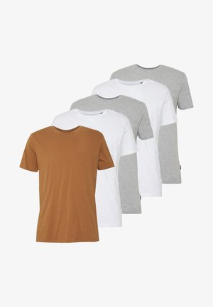 5 PACK - T-shirts - white