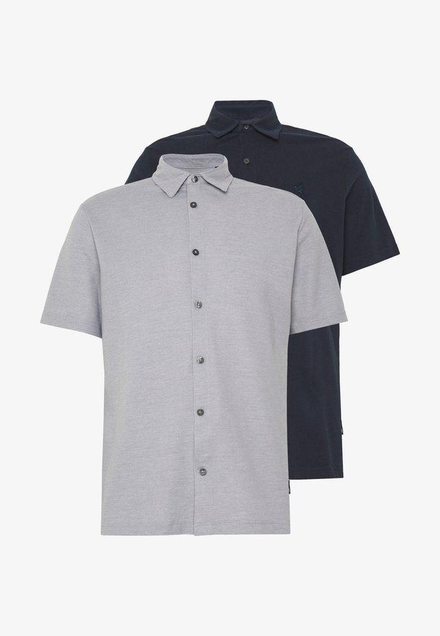 2 PACK  - Poloshirt - grey