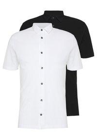 Burton Menswear London - 2 PACK - Triko spotiskem - white - 0