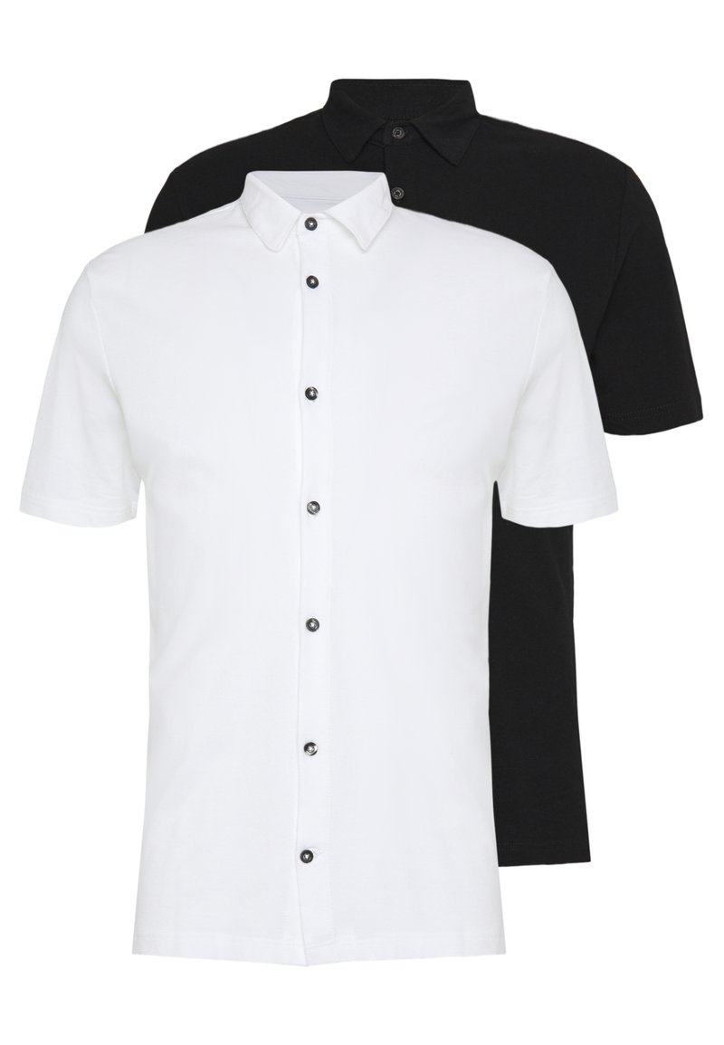 Burton Menswear London - 2 PACK - Triko spotiskem - white