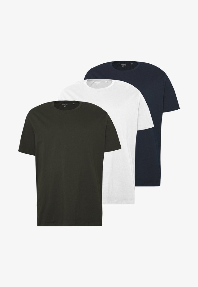 3 PACK - T-shirt basic - navy