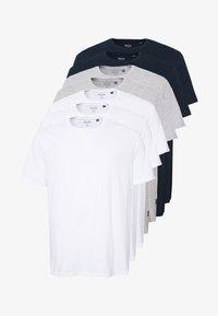 Burton Menswear London - 7 PACK - T-shirts - navy - 4