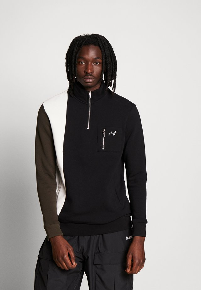 COLLECTION UTILITY FUNNEL NECK - Sweatshirt - black