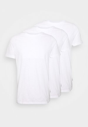 3 PACK - T-shirts - white