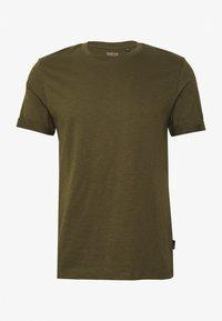 Burton Menswear London - 3 PACK - Jednoduché triko - khaki - 1