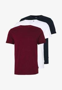 Burton Menswear London - 3 PACK - Jednoduché triko - white - 0