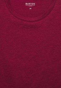 Burton Menswear London - 3 PACK - Jednoduché triko - white - 4
