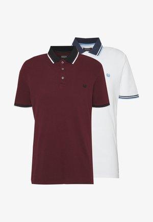 2 PACK  - Poloshirt - white