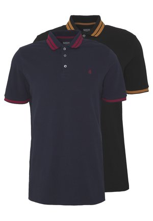 2 PACK  - Polotričko - navy/black