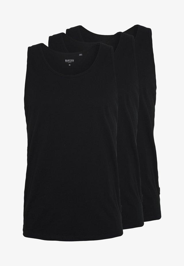 3 PACK - Top - black