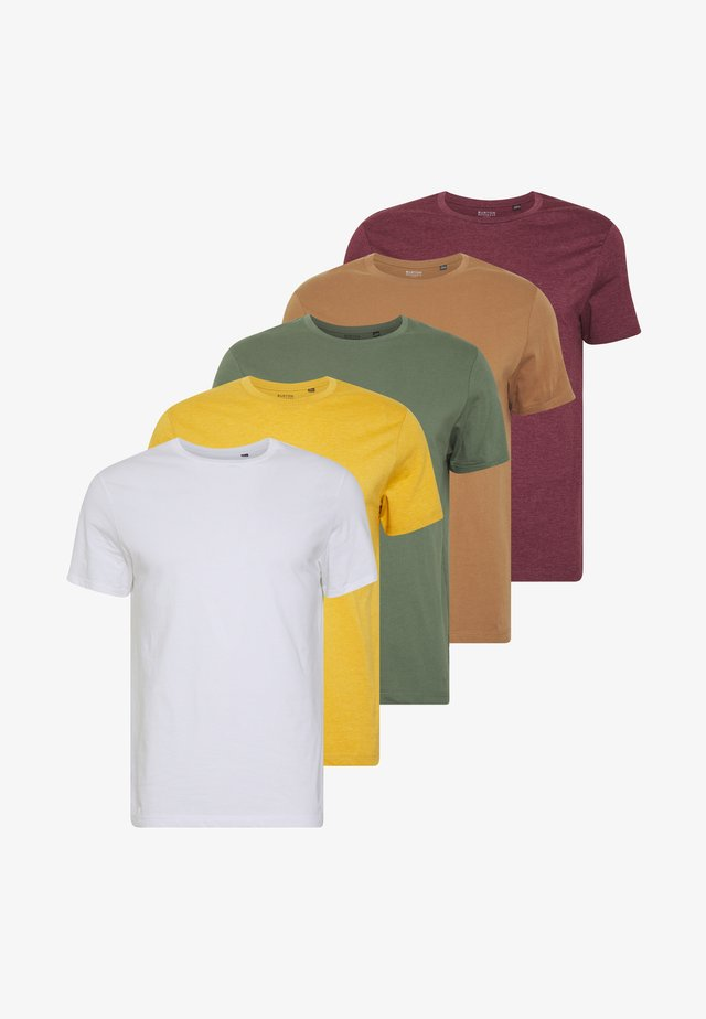 5PACK - T-Shirt basic - mixed