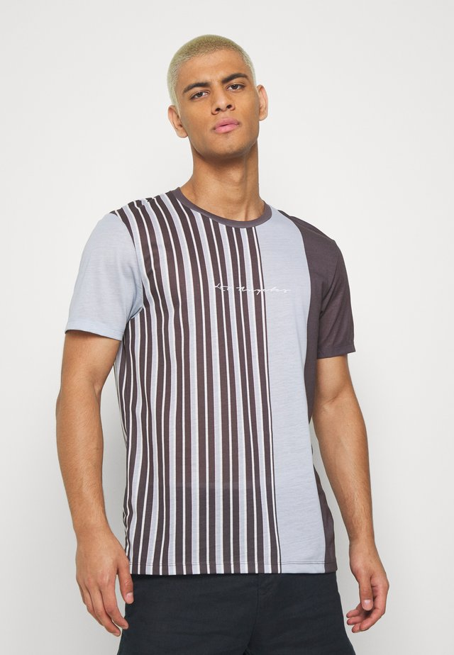 COPENHAGEN FINE STRIPE - T-Shirt print - grey