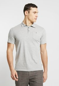 Burton Menswear London - BASIC 2 PACK - Koszulka polo - grey black - 4