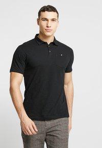 Burton Menswear London - BASIC 2 PACK - Koszulka polo - grey black - 2