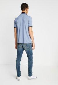 Burton Menswear London - OVERARM STRIPE - Polotričko - blue - 2