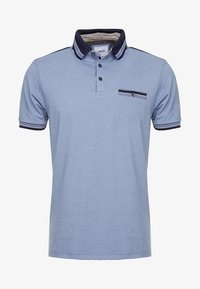 Burton Menswear London - OVERARM STRIPE - Polotričko - blue - 3