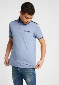 Burton Menswear London - OVERARM STRIPE - Polotričko - blue - 0