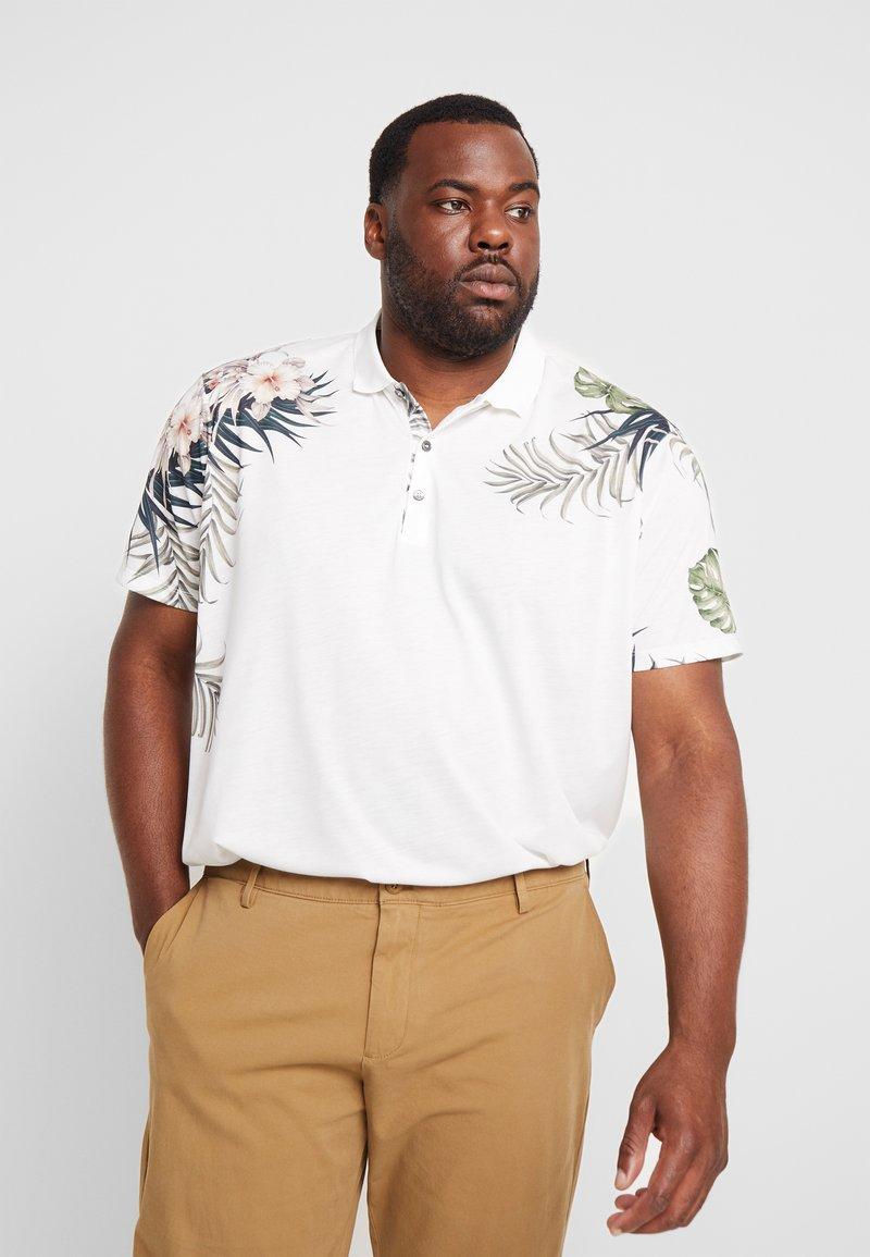 Burton Menswear London - PLACEMENT FLORAL - Piké - white