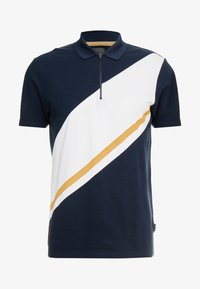 Burton Menswear London - PANELLING WITH ZIP FLAG - Piké - navy - 3