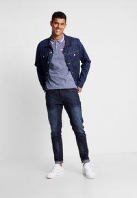 Burton Menswear London - BIRDSEYE HIGHLIGHT - Poloshirt - navy - 1