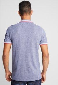 Burton Menswear London - BIRDSEYE HIGHLIGHT - Poloshirt - navy - 2