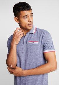 Burton Menswear London - BIRDSEYE HIGHLIGHT - Poloshirt - navy - 3